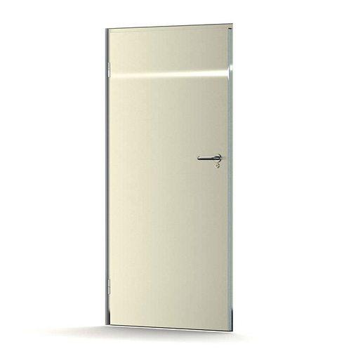 classic white door 3d model obj 1