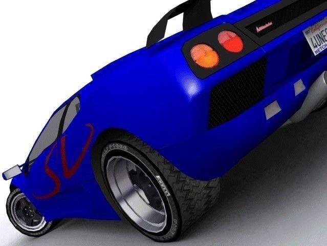 Lamborghini Diablo Sv 3d Model Cgtrader