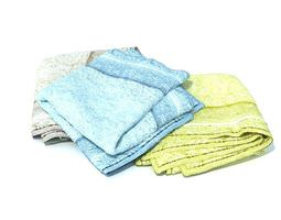 3D Multicolored Towels