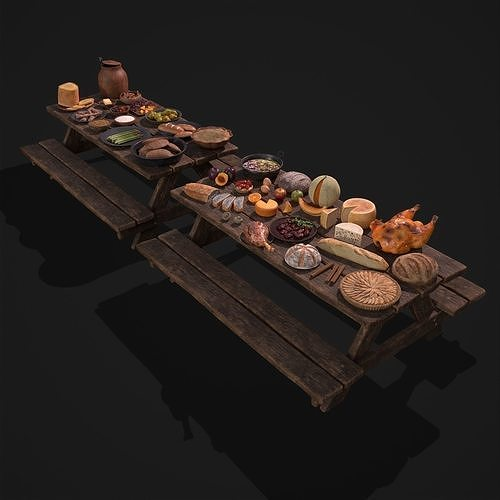Medieval Double Picnic Feast Collection