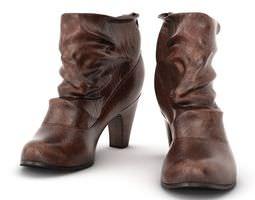 brown women s boots 3d