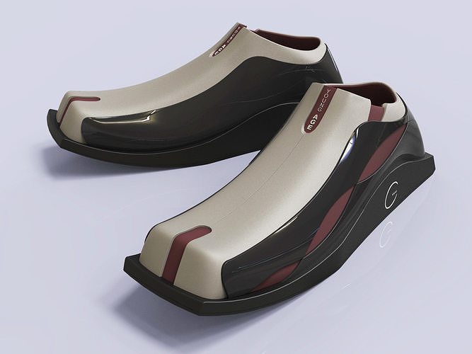 Sneakers shoes design 3D modeling source