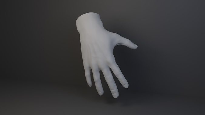 Stylized Male Hand free VR / AR / low-poly 3D model   CGTrader
