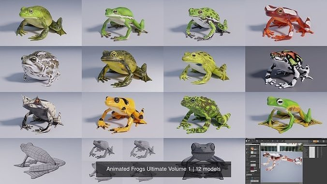 Animated Frogs Ultimate Volume 1