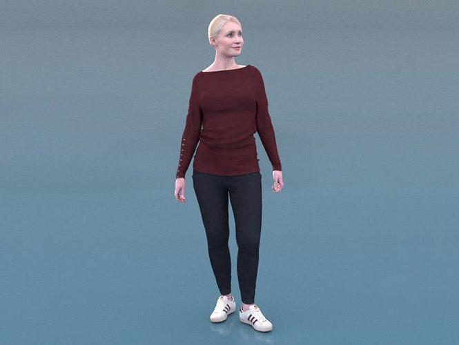 Kim 20120-01 - Animated Woman Idle