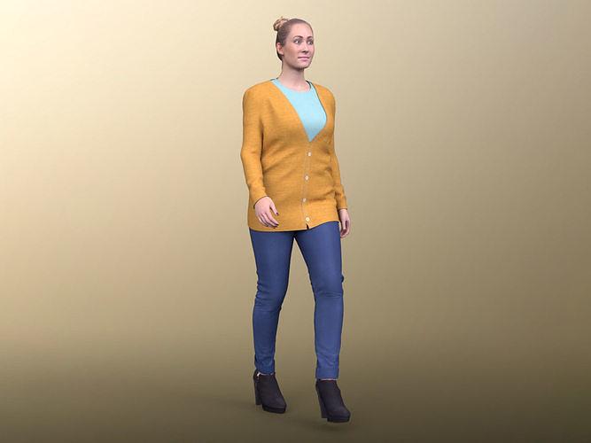 Rocio 20009-02 - Animated Casual Woman Walking