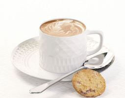 3D Porcelain Coffee and Tea Cup