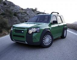 Land Rover Freelander 2004 3D
