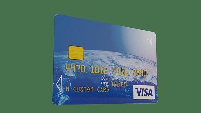 Customisable Debit Card