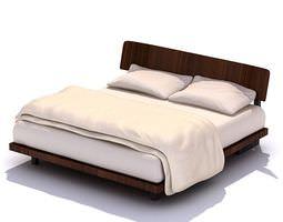 3D Minimalist European Bed