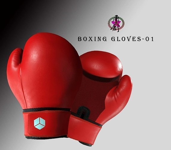 Boxing Gloves-Red