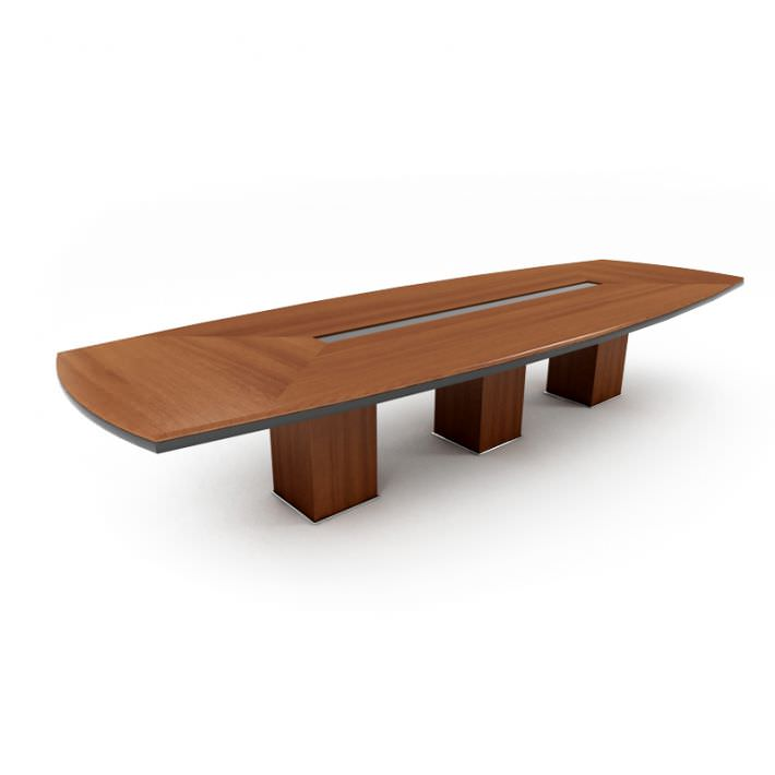 3D Office Conference Table CGTrader