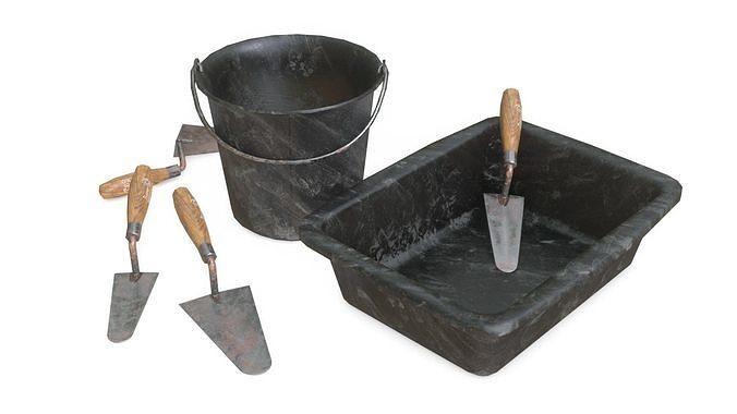 Mortar Tools Set