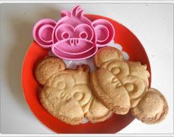 Cookies cutter Monkey 3D print model