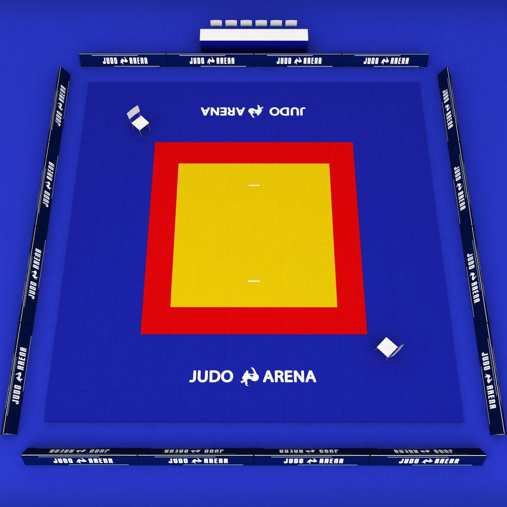 Best Car Floor Mats >> 3D model japan Judo tatami sport arena low poly   CGTrader