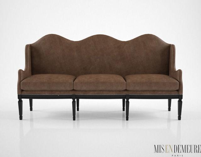 Mis En Demeure Debastopol Sofa 3D | CGTrader