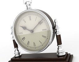 Mantel Clock 07 3D Model