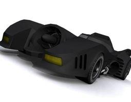 3D asset Batmobile