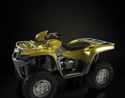 Yellow Atv 3D