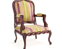 multi color chair 3d model