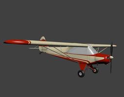 Piper Pa 18 Super Cub 3D model