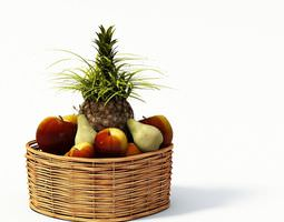 3d fruit basket
