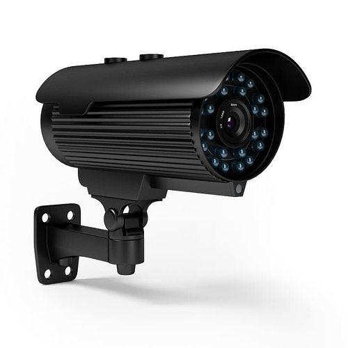 home security camera 3d model obj mtl 1