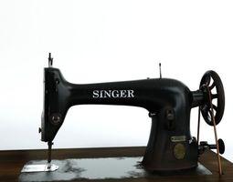 Sewing Machine Singer 3D