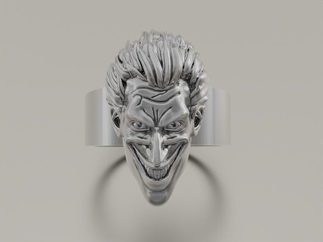 Ring Joker Face