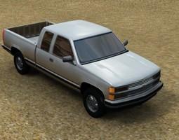 Pickup Truck 3D model pickup
