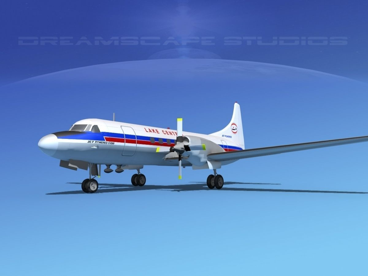 Convair CV-580 Lake Central