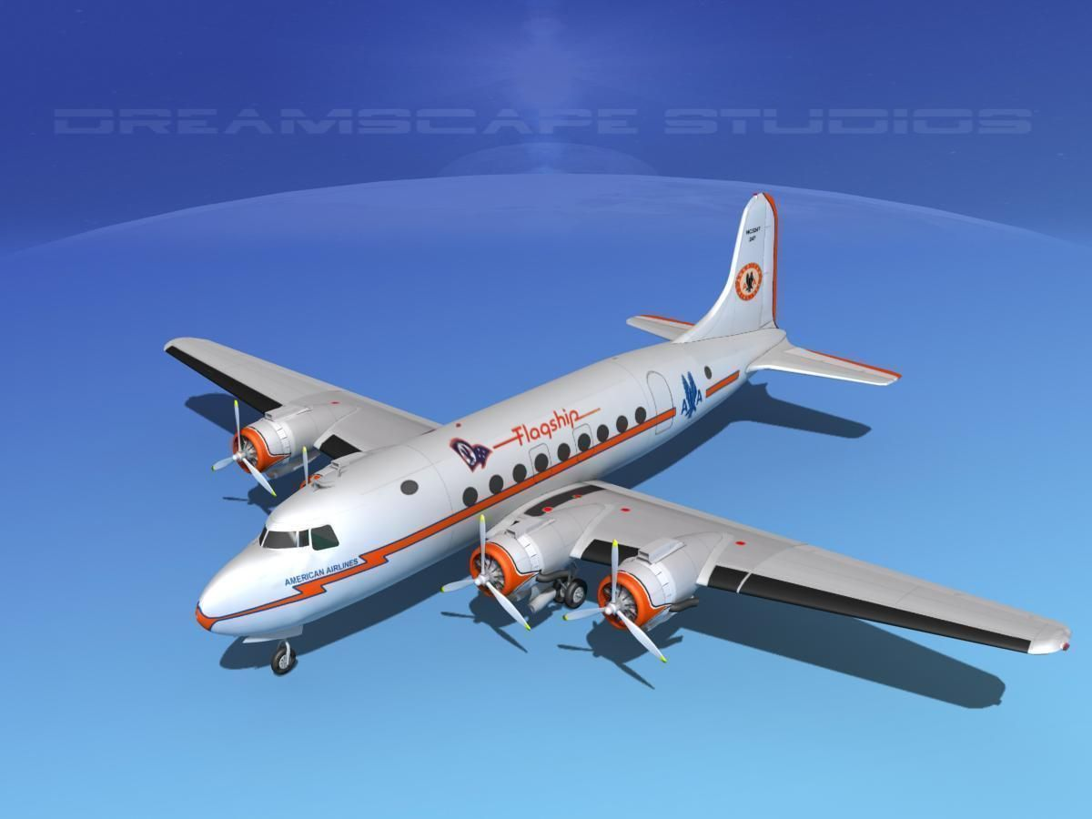 Douglas DC-4 American Airlines