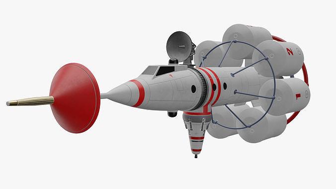 Realtime von Braun Lunar Reconnaissance Rocket