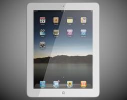 Apple iPad 2 The new iPad 3D model