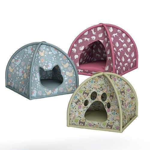 Bed-tent for animals