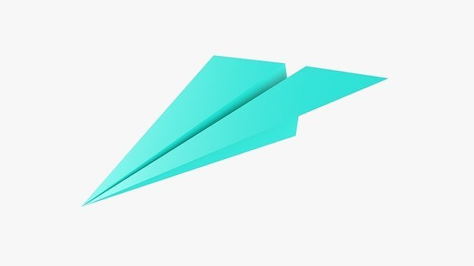 Paper airplane 01