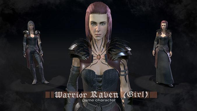 Warrior Raven - girl