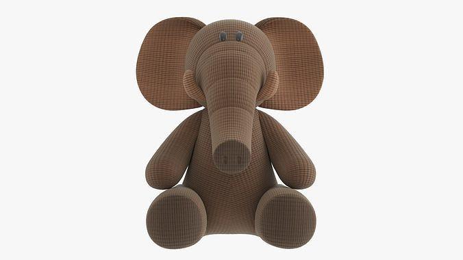 Elephant toy soft v1