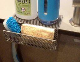 007g - Sponge Holder - Side mount - 3D print model 2