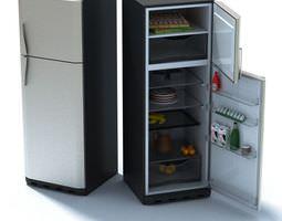 Luxury Home Refrigerator 3D model