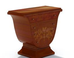 Classic Wooden Storage 3D