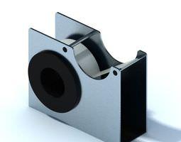 3D model Retro Tape Dispenser