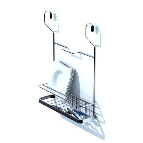 hidden kitchen storage 3d model  1