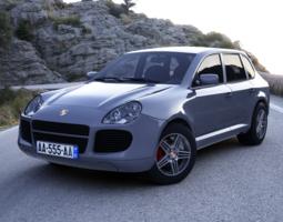3D Porsche Cayenne
