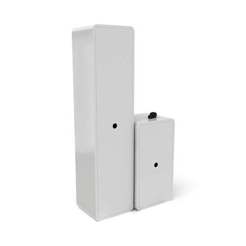 White Bathroom Cabinets 3d Model