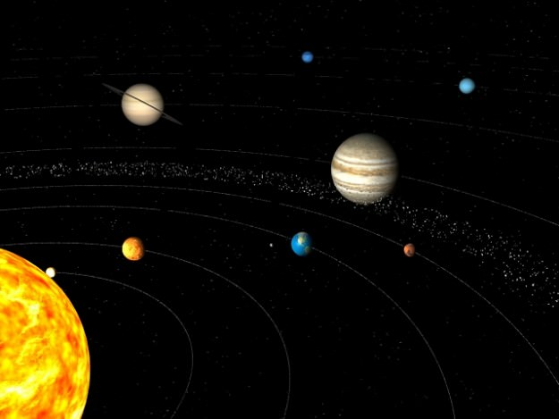 solar system orbits 3d - photo #33