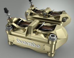 Brembo Brake Calipers 3D