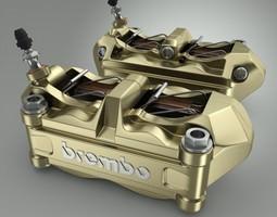 brembo brake calipers 3d model