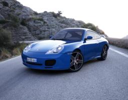 3D Porsche 911 Carrera