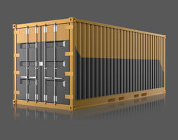3d industrial container